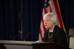 Fed kisses QE goodbye -Photo courtesy Federal Reserve Flickr - The Carlyle Financial Blog